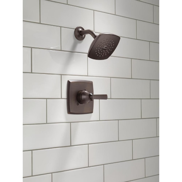 Delta Ashlyn 1 Handle Pressure Balance Shower Faucet Trim Kit In Venetian Bronze Valve Not Included New