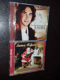 CHRISTMAS CD's...  BOTH FOR $5  Pick up in Edmonto EDMONTON