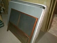 white and brown wooden cabinet Kitchener, N2C 1X9
