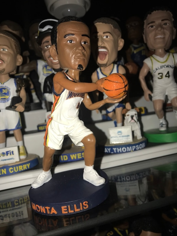 free shipping 31d8b 19b54 Monta Ellis golden state warriors bobblehead price is firm it has no box