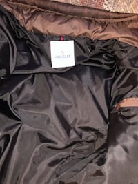 Brown Moncler Coat. Price negotiable. Washington, 20011