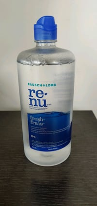 New! Renu contact solution