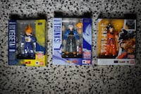 DRAGON BALL S.H. FIGUARTS FIGURES - GOKU & TRUNKS - *Please read full description!* Toronto