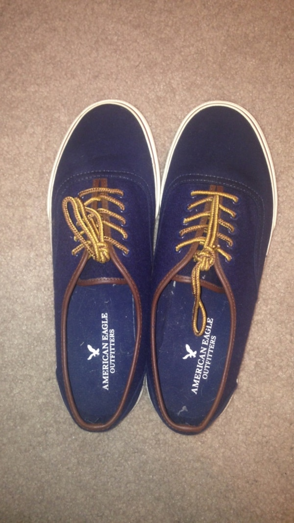 334e33f55050 Used blue american eagle outfitters low top sneakers for sale in Stillwater  - letgo