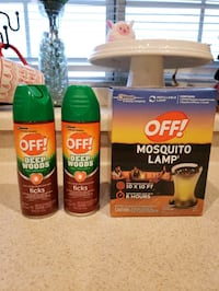 Camping repellent kit