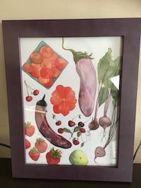 Framed Art - Summer/Autumn Produce Print Vancouver, V5N