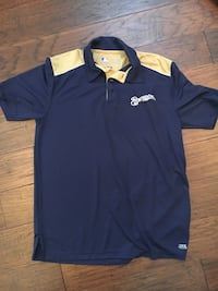 Men's sz Large Brewers Dry Fit polo