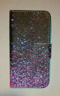 iPhone 4/4S New Paint Spatter Wallet Case