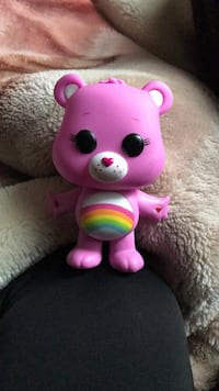 Pink care bear pop figure  Vancouver, V5N 3T6