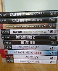 PlayStation 3 games Los Angeles, 91344