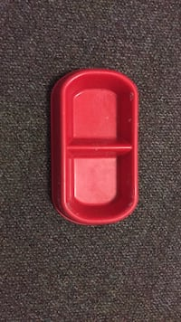red and black plastic case Washington, 20037