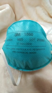 3M N95 1860 health care particulate respirator and Abbotsford, V2T
