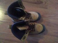 pair of brown-and-black work boots Gatineau, J8L
