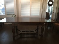 Table, solid wood,
