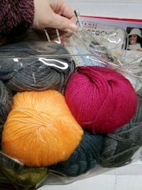 Knitting and Crocheting Lot