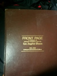 Historical front page book Stanton, 90680