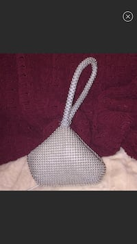 White and black knitted Textile purse Chanhassen, 55317
