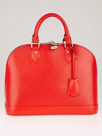 LOUIS VUITTON Coquelicot Epi Leather Alma PM Bag   Toronto, M5A 2N2