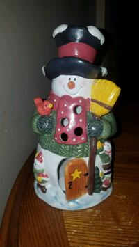 International silver company snowman house t lite holder Youngstown, 44515