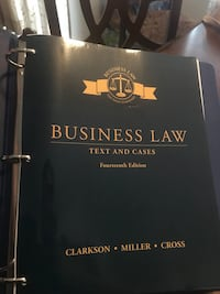 Business Law texts and cases