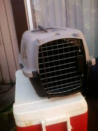 white and black pet carrier Edmond, 73012