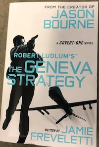 The Geneva Strategy by Jamie Freveletti, a Robert Ludlum novel Manassas, 20109