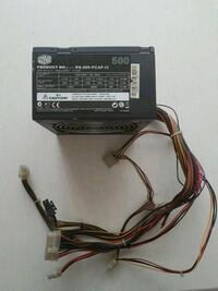 Cooler master power supply rs 500 Istanbul