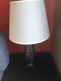 Set of two lamps $40.00 pair Toronto, M9B
