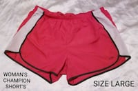 Woman's Champion Short's Size Large Omaha, 68111