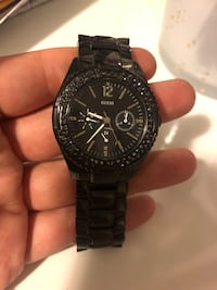 Guess watch black  New Westminster, V3L