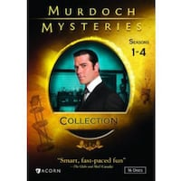 Murdoch Mysteries DVD series set 1-4 Vaughan