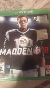 Sony PS4 Madden NFL 18 case Fort Erie, L2A 2T5