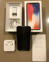 iPhone X unlocked 256GB!