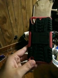 black and red plastic container Kingsport