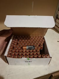AA Duracell batteries brand new 100 lot in box