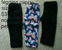 Leggings size 3t 3 pairs Wilmington, 28403