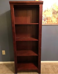 brown wooden 5-layer shelf Indianapolis, 46250