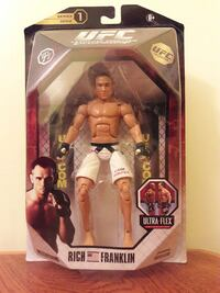 Ufc series 1 bj penn with manufacturer error. Collectable item. Chicago, 60632