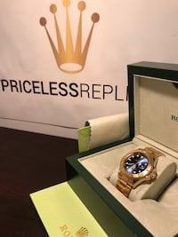 Yacht Master blue face triple gold plated have to see  Delray Beach, 33483
