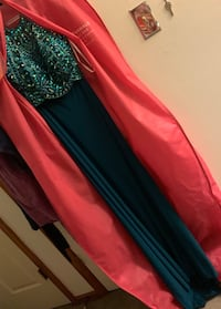 Prom/ring dance/formal dress. Never worn or altered. Brand new.