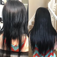 Microbeads hair extensions Houston, 77002