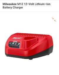 Milwaukee m12 charger battery Glendale, 91202