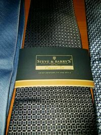 3 Steve and Barry's ties never been used