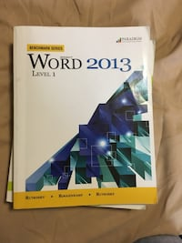 Word 2013 Level 1 book London, N5V