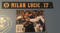 Milan lucic signed photo Colchester, 06415