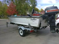 14 ft Sylvan boat package .$1000 obo Minot, 58701
