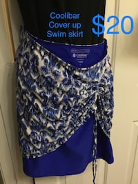 COOLIBAR Swimsuit Cover-up swim skirt Size Large