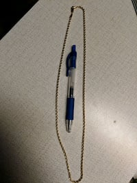 "24k gold filled chain, 24"" - pen not included Edmonton, T6H 5Y6"