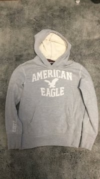 gray and white pullover hoodie Wallaceburg, N8A 3N9