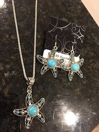 Set of earrings  and necklace  Lutherville Timonium, 21093